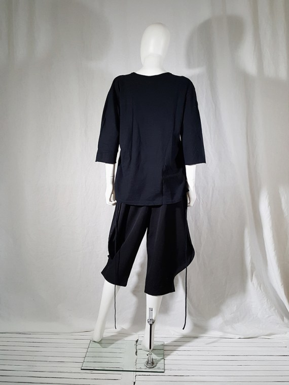 archive Ann Demeulemeester black jumper with extra armholes spring 1999 180434