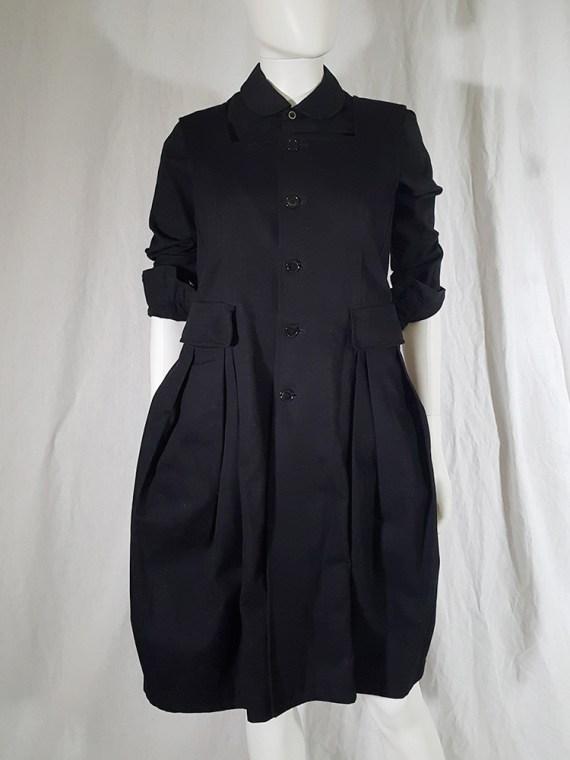 vintage Comme des Garcons Comme black school uniform dress 141833(0)