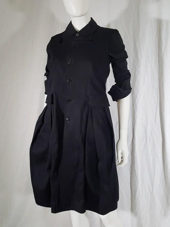 vintage Comme des Garcons Comme black school uniform dress 141958