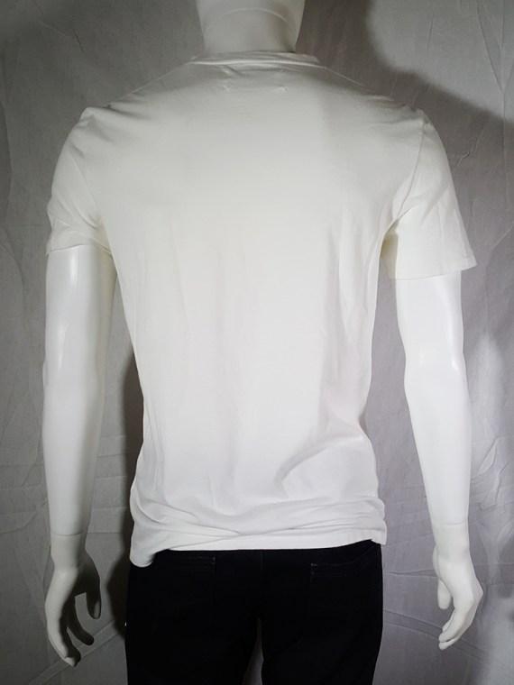 Maison Martin Margiela white t-shirt with key print fall 2009 143729