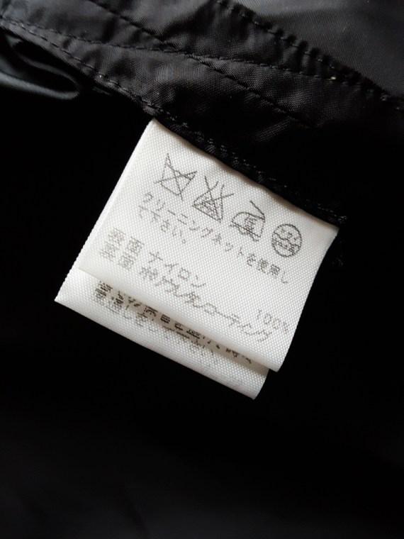 vintage Issey Miyake black dress with 3D block panels 150149