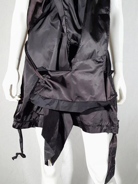 vintage Issey Miyake black dress with 3D block panels 181444