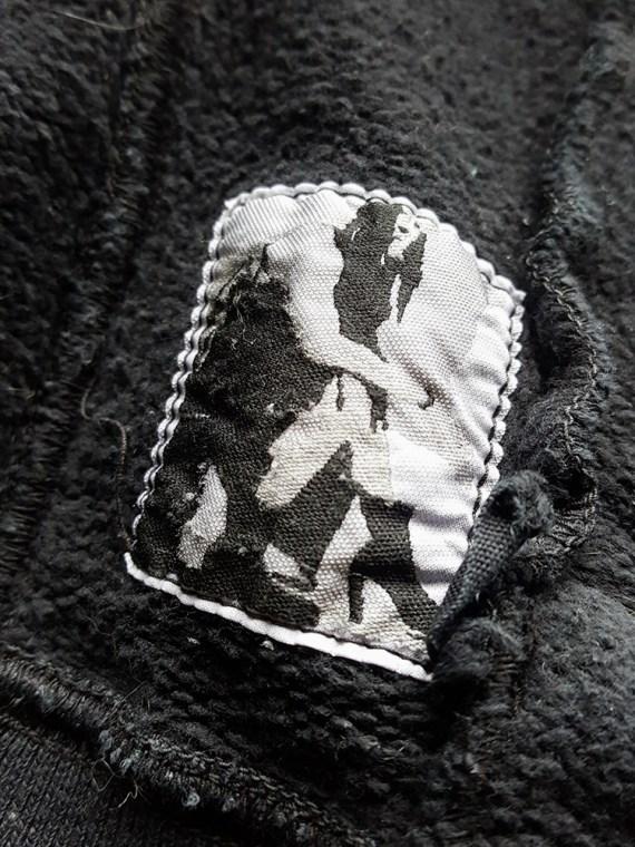 vintage Rick Owens DRKSHDW black zipper sweatshirt 112615