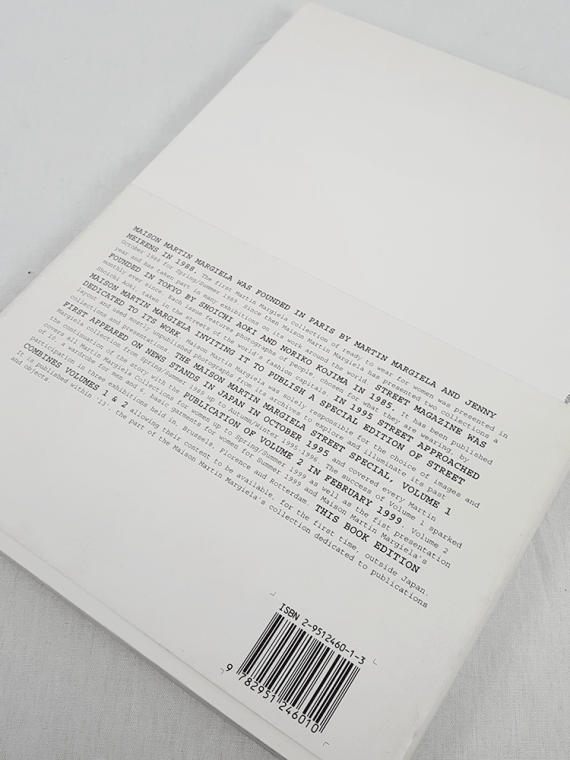 vintage Maison Martin Margiela 13 STREET book special edition volumes 1 and 2 november 1999 110626(0)