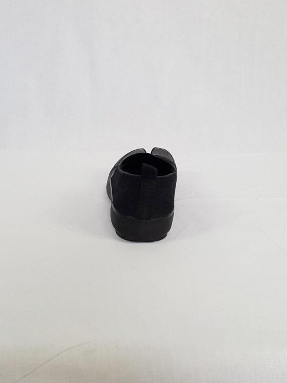 vintage Maison Martin Margiela MM6 black tabi sneaker slip ons early 2000s 115253
