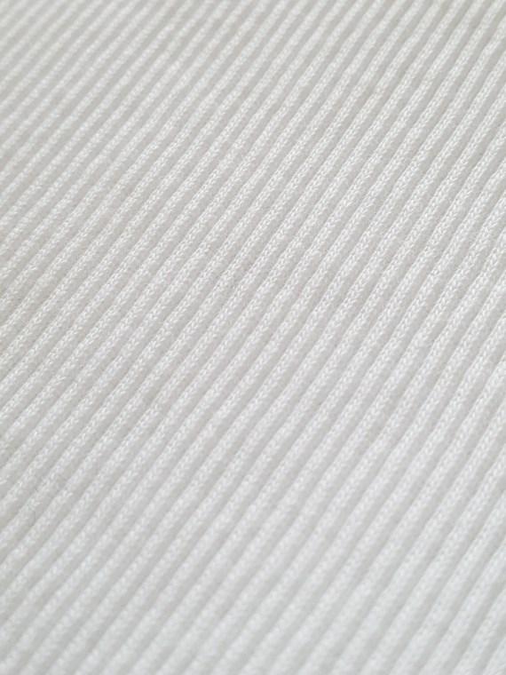 Maison Martin Margiela white stapled tanktop — spring 2007