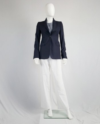 Maison Martin Margiela replica blue boy's tailored jacket — fall 2005