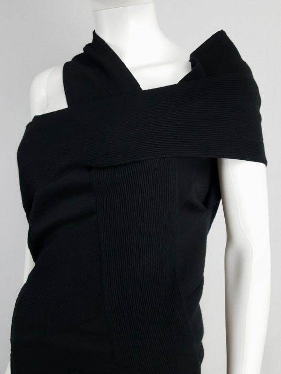Maison Martin Margiela black bandage dress — fall 2009