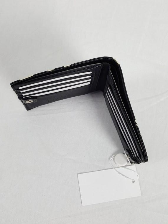 vintage Maison Martin Margiela black confetti wallet spring 2009 142924