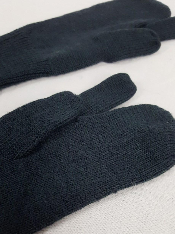 Maison Martin Margiela green long tabi gloves — fall 2010