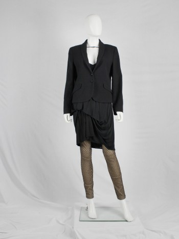Maison Martin Margiela replica black 'tailored jacket of a ladies suit'