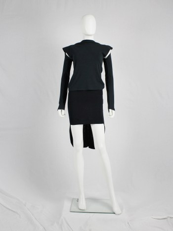 Maison Martin Margiela skirt or top with high-low hemline — spring 2008