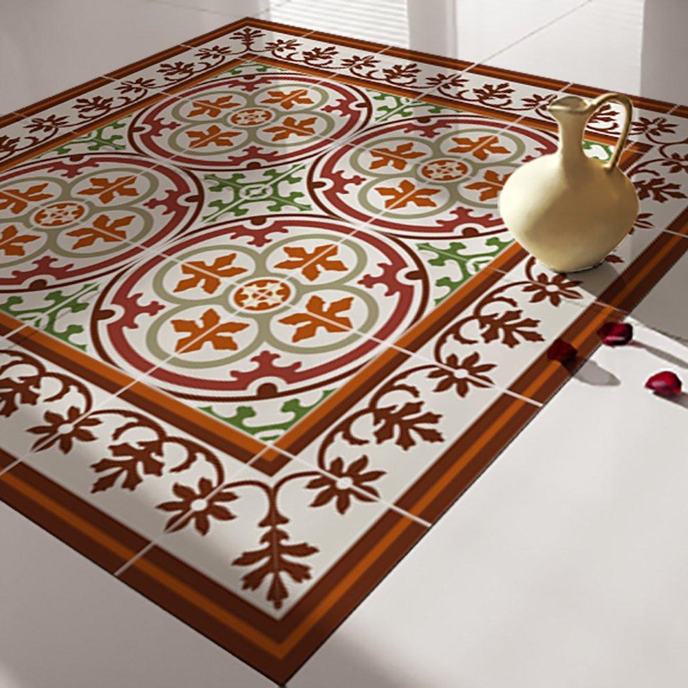floor tile decals stickers vinyl decals vinyl floor self adhesive tile stickers decorative tile flooring removable stickers no 105