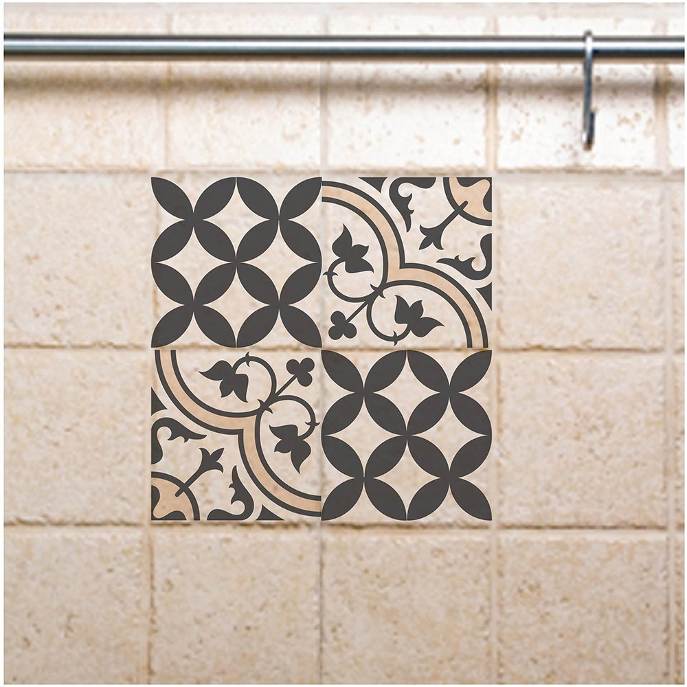 tile wall decals mix gray tile stickers gray diy tile stickers