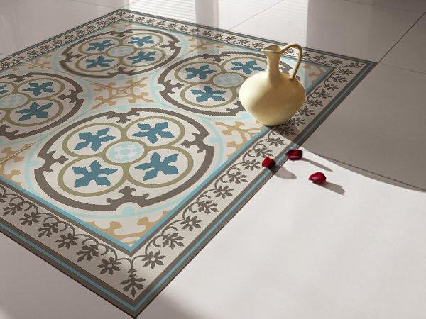 traditional tiles floor tiles floor vinyl tile stickers tile decals bathroom tile decal kitchen tile decal 104