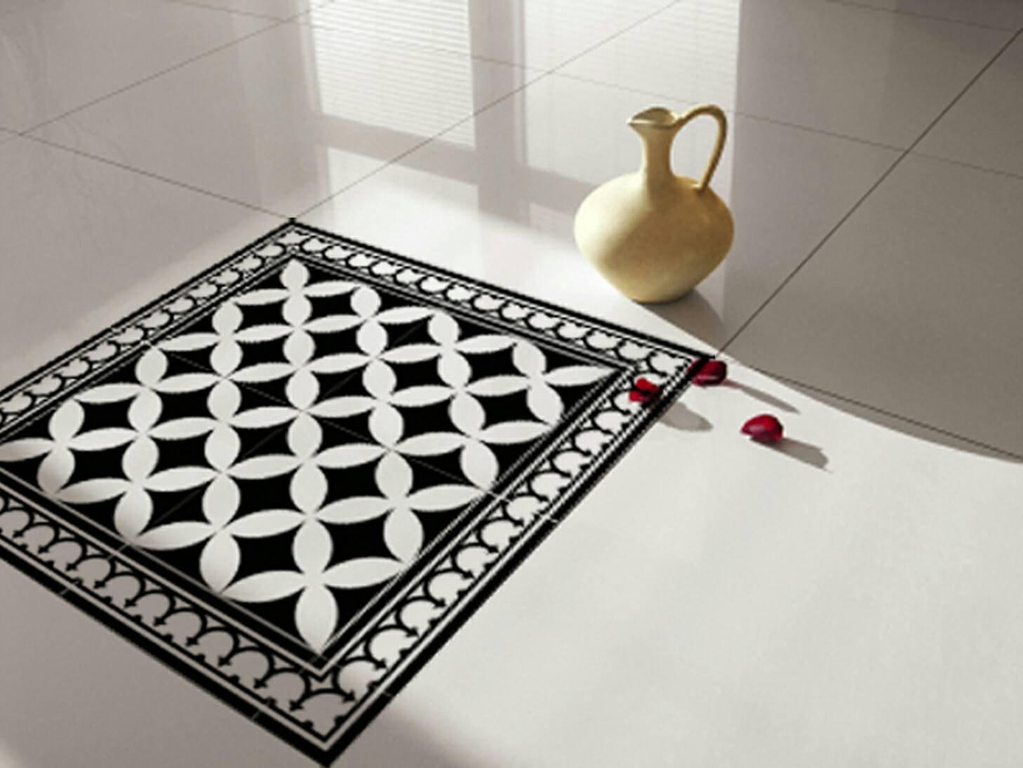traditional tiles floor tiles floor vinyl tile stickers tile decals bathroom tile decal kitchen tile decal 132