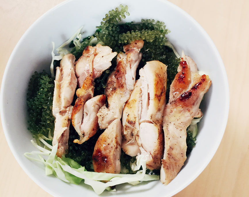 Meal Belly Green Caviar Vietnamese Chicken Salad
