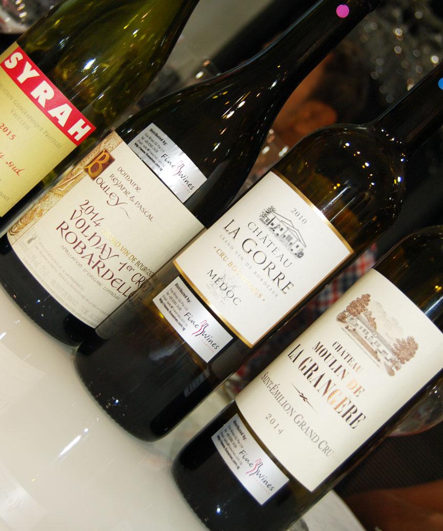 Fine Wines Wine Class