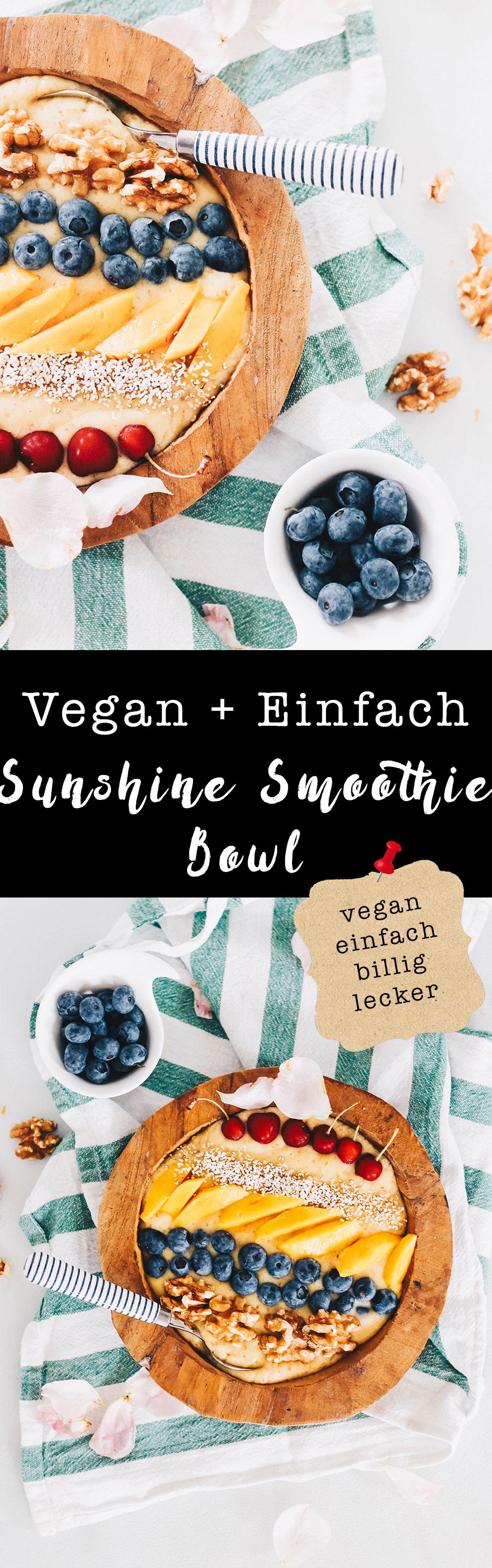 vegan-sunshine-smoothie-frühstücks-bowl