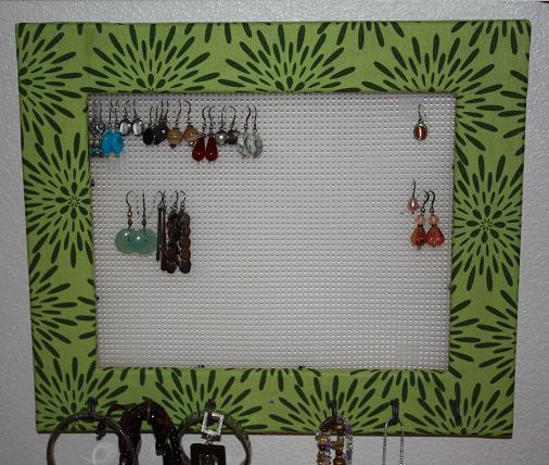 jewelry organizer tutorial