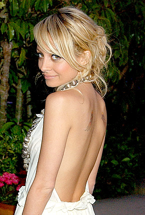 NICOLE RICHIE TATTOOS PICTURES IMAGES PICS PHOTOS OF HER