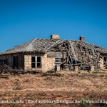 Abandoned Stone Farm House Near Hamby, Texas