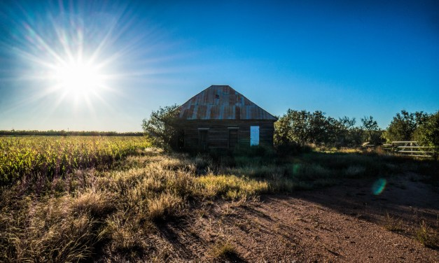 Abandoned Tenant Farmer House South of Stamford, Texas