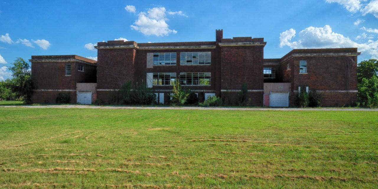 Denison Central Ward School in Denison, Texas – Demolished
