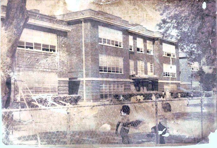 Central ward School - Photo Credit: Grayson County TXGenWeb
