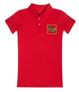 Women's VIP Polo Shirt Red