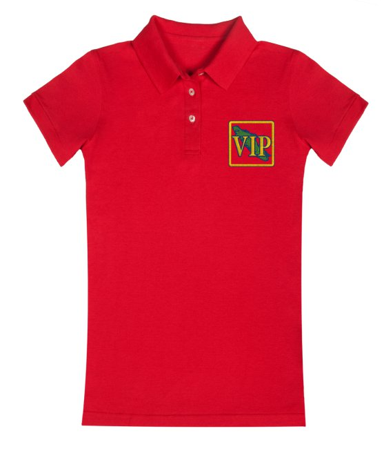 Women's VIP Polo Shirt Red
