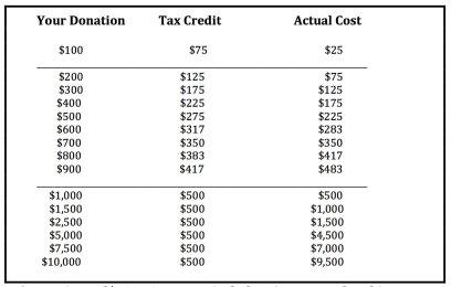 Political Contribution Rebate