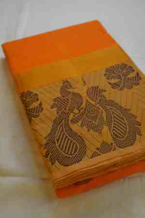 Chettinad Handloom cotton sarees.