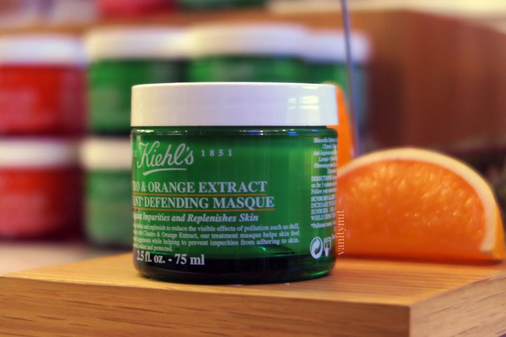 kiehl's cilantro and orange defending mask