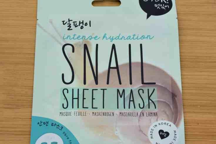 The Oh K! Snail Sheet Mask
