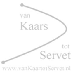 Bedrukte kaars 200-70 wit – Watertransfer