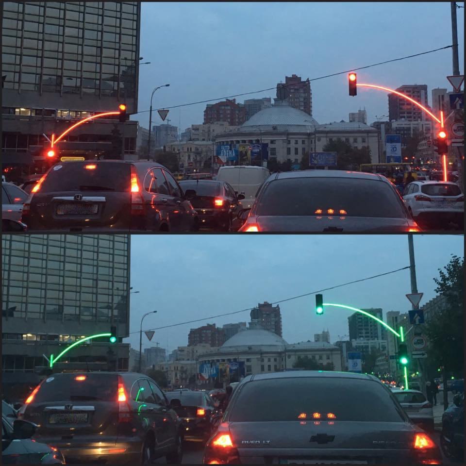 Coole verkeerslichten