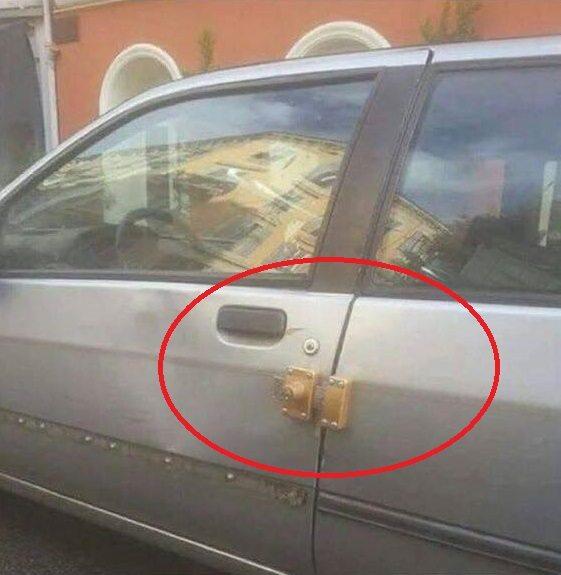 Auto op slot