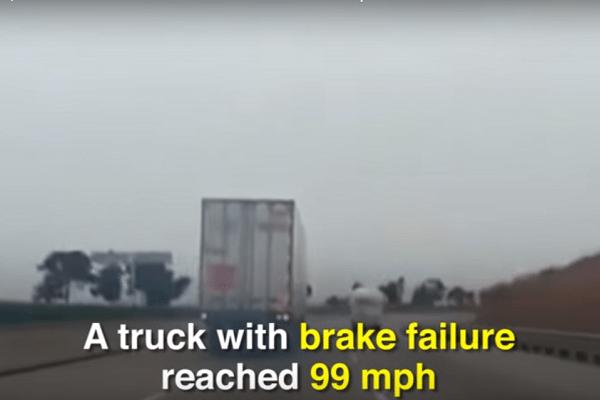 truck remmen begeven