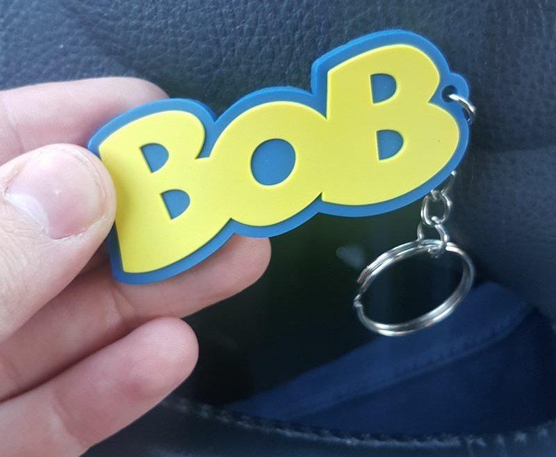 Bob sleutelhanger rechtenvrij kl