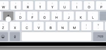 nieuw toetsenbord ipad