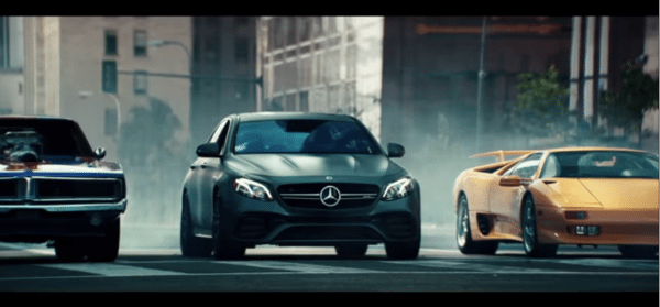 mercedes amg commercial usa