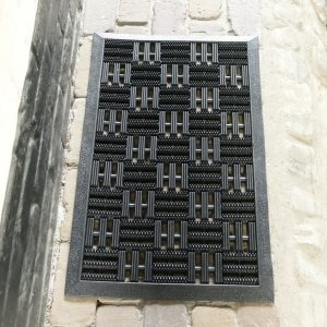 rubber deurmat 45x75 cm