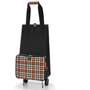 Reisenthel opvouwbare trolley glenched Red