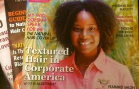 Black-Owned Magazine--For The Textured, Natural, Curly Hair Market--Celebrates 2 Years Of Publishing