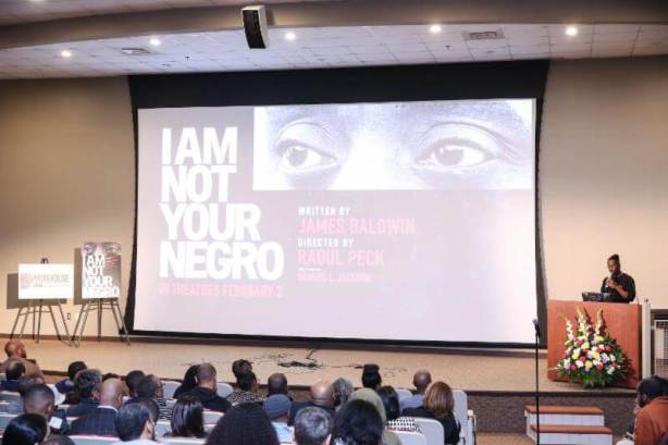 Janelle Monáe & Others Attend 'I Am Not Your Negro' Screening @ Morehouse College