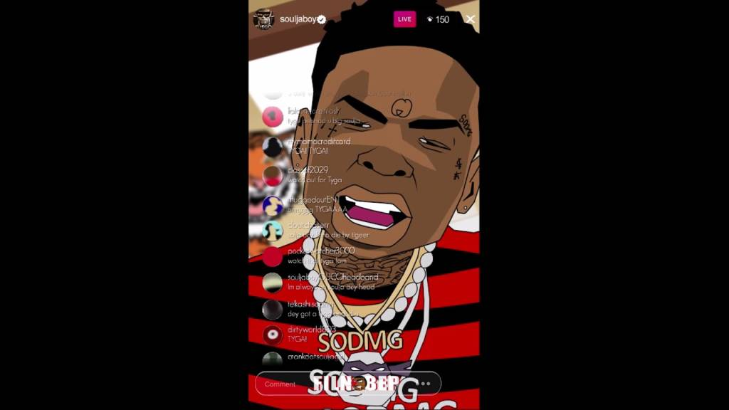 Soulja Boy 'Tyga? TYGA? Tiger?' [Cartoon Parody]