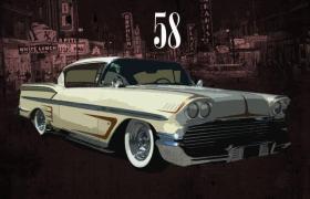 Jakk Wonders - Fifty Eight Impala [Beat Tape Artwork]