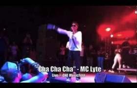 Cha Cha Cha (Live) video by MC Lyte