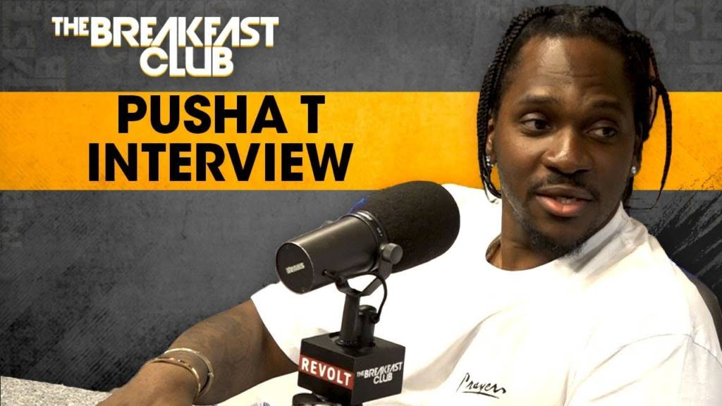 Pusha T Talks 'Daytona' + The Mind Of Kanye West, Lil Wayne, Drake, & More w/The Breakfast Club (@Pusha_T)